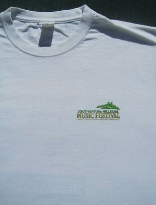 VENTURA 2007 benefit concert MEDIUM T-SHIRT jack johnson robert cray maytals