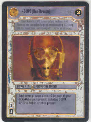 Star Wars CCG Reflections 1 FOIL C-3PO (See Threepio)