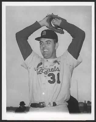 1964 Orig 1St Gen Press Photo   Curt Simmons  Cardinals