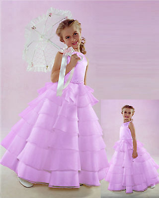 Baby Flower Girl Lilac Wedding Dress 24 Months
