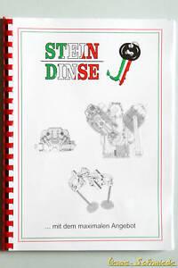 VESPA Dell'Orto Book Carburettor Exploded-view drawings Guide Handbook Dellorto