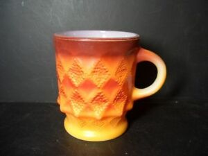 ANCHOR-HOCKING-FIRE-KING-KIMBERLY-ORANGE-COFFEE-MUG-3-A
