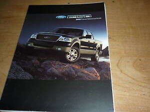 2007 ford f150 f 150 quick reference owners manual supp. Black Bedroom Furniture Sets. Home Design Ideas