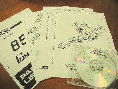Norton Commando 750/850 Parts Manual CD