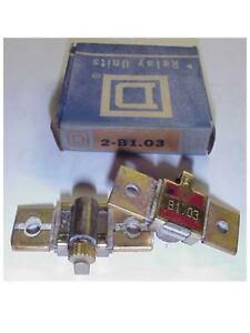 2 New Square D B1 03 Motor Starter Overload Heaters Ebay