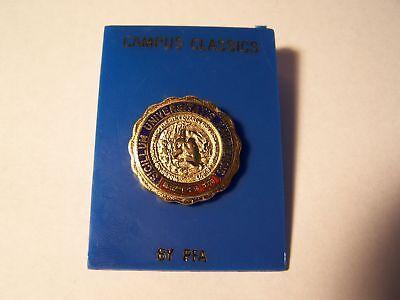 Ncaa Kansas University Ku Jayhawk School Seal Pin