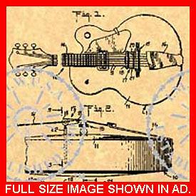 GRETSCH-ELECTRIC-GUITAR-Patent-White-Falcon-039-67-749