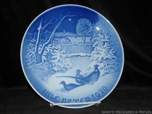 Bing-Grondahl-Christmas-Plate-Jule-Aften-1970