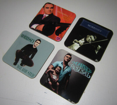 Morrissey of The Smiths Album Cover COASTER Set #2
