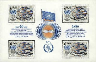 Czechoslovakia MNH Sc 2551 Mini-sheet Value $ 12.00