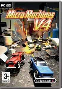 Micro Machines 4 v4 - Pc (New & Sealed)