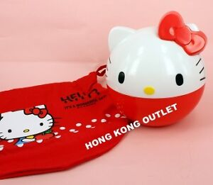 Hello-Kitty-Bento-Lunch-Box-Case-Sanrio-with-Bag-A63