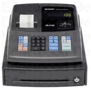 SHARP-CASH-REGISTER-XE-A106-XEA106
