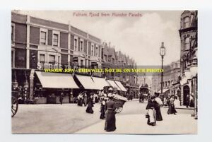 rp2357 - Fulham Road from Munster Parade - photo 6x4