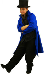 World-Book-Day-Oliver-Victorian-ARTFUL-DODGER-Frock-coat-ALL-AGES-SIZES