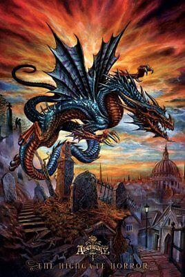 Poster: ALCHEMY GOTHIC - Dragon - Highgate Horror 57307