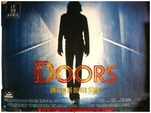 The doors affiche cin ma movie poster oliver stone val for Fenetre 80x60