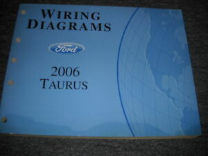 2006 ford taurus electrical wiring diagrams service shop. Black Bedroom Furniture Sets. Home Design Ideas