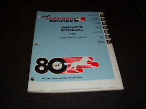 Evinrude 1980 Manual 4 5 Hp