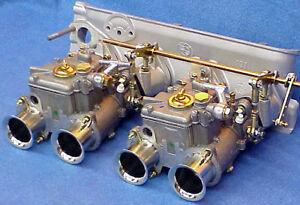 BMW-2002-Dual-45-DCOE-Weber-Carburetor-Kit-Genuine-Made-in-Spain-DCOE-Carbs