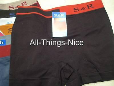 MENS UNDERWEAR Seamless 12pr BOXER Shorts WHOLESALE L
