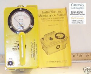 1 NEW 3A RADIOLOGICAL SURVEY METER CDV 720
