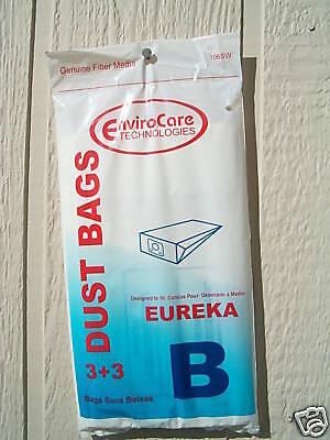 24 Eureka B Allergy Canister Vacuum Bags 1700 3700