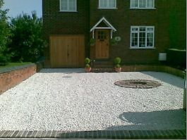 COTSWOLD DECORATIVE CHIPPINGS GRAVEL STONE GARDEN DRIVE £59 Per Tonne