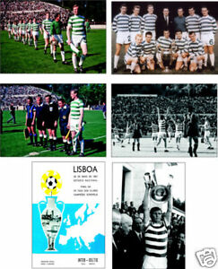 Celtic-Lisbon-Lions-European-Cup-Winners-POSTCARD-Set