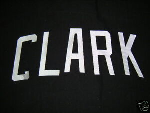 R-609-Lot-of-White-Heat-Press-Uniform-Letters-CLARK