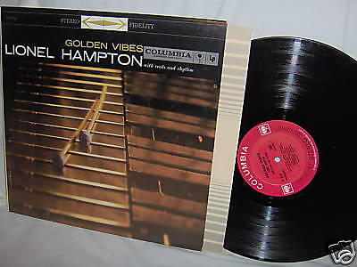 Lionel Hampton Golden Vibes Jazz Lp