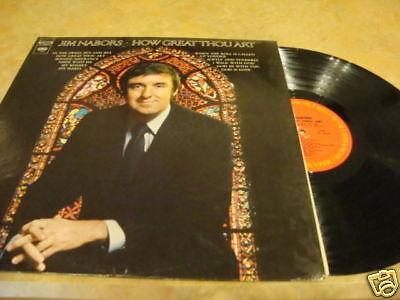 Jim Nabors How Great Thou Art Lp Record Album C 30671