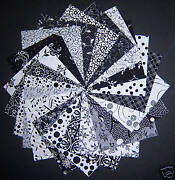 Black and White Quilting Fabric