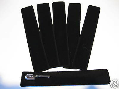 LOT OF 48 BLACK VELVET PEN POUCH/SLEEVE HOLDER