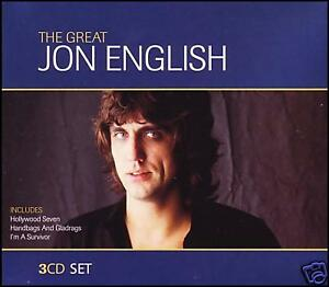 JON ENGLISH (3CD) 3 CD Album BOXED SET ~ OZ ROCK *NEW*