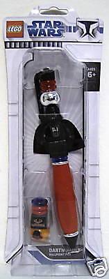 Darth Vader Lego Star Wars Ballpoint Pen The Clone Wars 2009