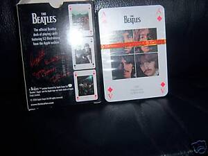 THE-BEATLES-OFFICIAL-APPLE-CORPS-54-different-pictures-PLAYING-CARDS-UNOPENED