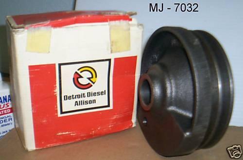 MTU Detroit Diesel Inc. - Groove Pulley - P/N: 5133305 (NOS)