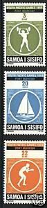 Samoa 1969 Scott # 312-314 MNH Set