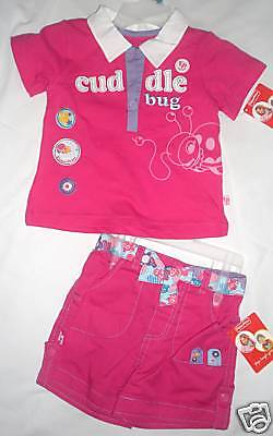 Fisher-price Infant Girls 2 Piece Outfit Size 12m