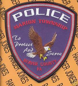 MARION-TOWNSHIP-PA-Police-Dept-PD-LEO-patch