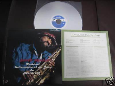 Sonny Rollins Festival Montreal 1982 Japan Laser Disc