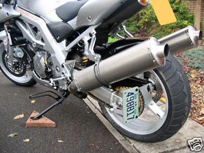 License Plate Relocator Bracket Suzuki Sv1000, Sv 1000s
