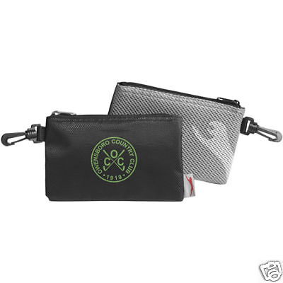 Golf Valuables Accessory Pouch Ditty Tool Bag Zippered