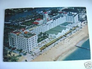 1949-HOLLYWOOD-BEACH-HOTEL-HOLLYWOOD-FLORIDA-POSTCARD