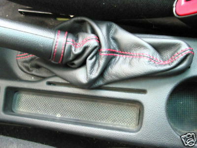 Alfa Romeo 147 Gt 00-10 Bolsa Freno Cuero Negro