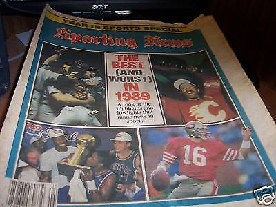 Sporting News 2 22 1990 Best   Worst Of Sports In 1989
