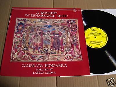 A TAPESTRY OF RENAISSANCE MUSIC  - LP FIDELIO  (2)