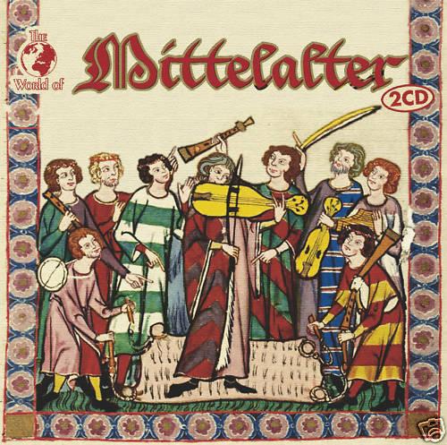 CD Mittelalter von Various Artists aus der The World Of Serie  2CDs