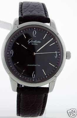 Glashutte Original Senator Sixties Round Stainless Watch